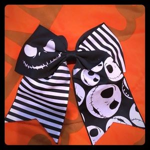 Nightmare Before Christmas Big Hair Bow